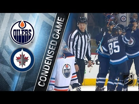 Edmonton Oilers vs Winnipeg Jets – Dec. 27, 2017 | Game Highlights | NHL 2017/18. Обзор матча