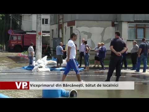 Viceprimarul din Bărcănești, bătut de localnici