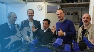 Herren der Wirbel: Aquakin - Start-Up aus Bayern