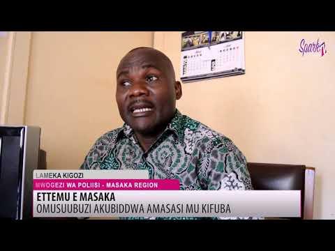 Omusuubuzi akubiddwa amasasi mukifuba e Masaka