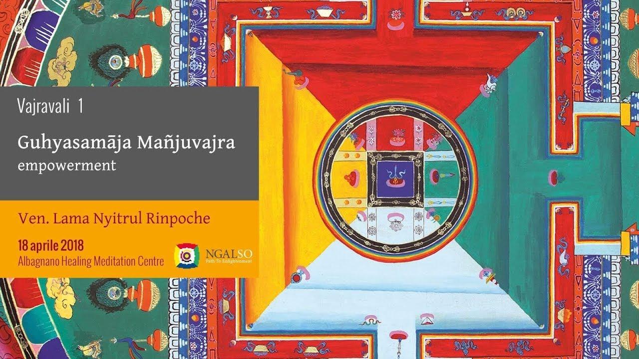 Vajravali 1 - Garland of 45 Empowerments - Guhyasamāja Mañjuvajra