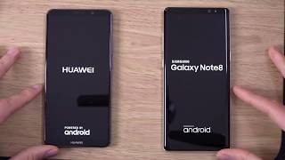 Huawei Mate 10 Pro vs Samsung Galaxy Note 8 - Speed & Camera Test