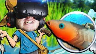 ДЕРЗКАЯ РЫБИНА! - Catch and Release VR - HTC Vive ВИРТУАЛЬНАЯ РЕАЛЬНОСТЬ
