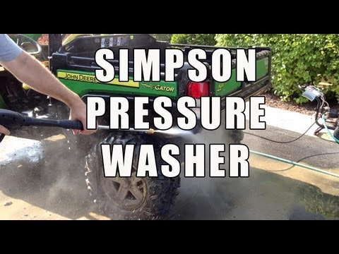 Simpson MS31025HT MegaShot 3100 PSI Pressure Washer – Review