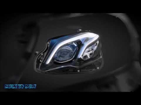 Les phares intelligent de Mercedes-Benz