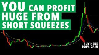 YOU Can Profit From Day Trading Short Squeeze! 100% MOVE