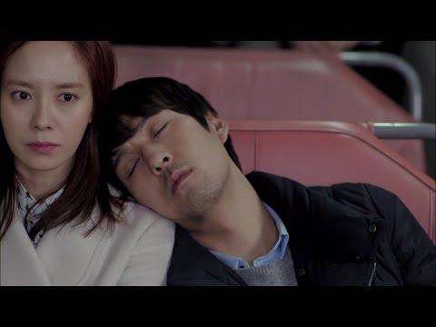 Emergency Couple Ep7: Jin-hee's heart flutters when she sees Chun-soo leaning on her shoulder