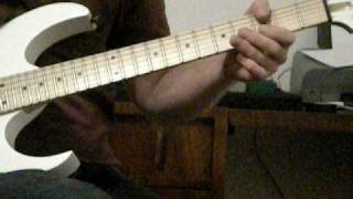 Bach Prelude In C Major on guitar