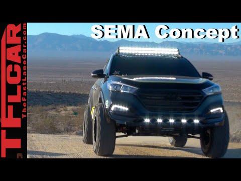 Exclusive: 2016 Hyundai Tucson Rockstar Performance Garage SEMA Concept
