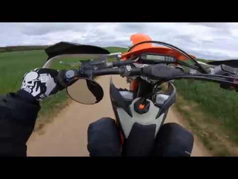 5 and 6 gear Wheelie KTM EXCF 350 EFI