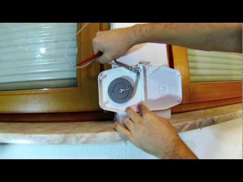 Mini-Vorbau Rolladen Gurtwickler austauschen