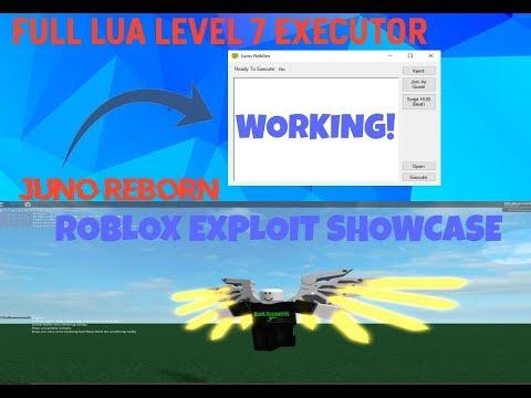 Roblox Lua Script Executor Lvl 6 Free New Roblox Exploit Juno Reborn Level 7 Loadstrings W Getobject Apphackzone Com