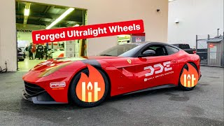 MY NEW FERRARI IS BACK & WITH NEW WHEEL REVEAL!
