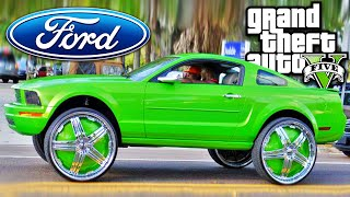 GTA 5 CARRO FORD MUSTANG TUNING