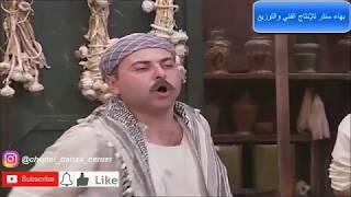 باب الحارة الجزء الثاني - عبدو يحكي للدرك حرامية وشهامة أبو قاسم