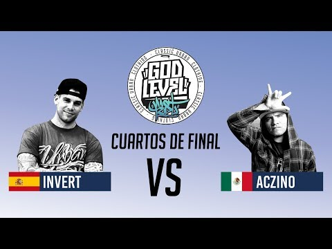 ACZINO VS INVERT / CUARTOS / GOD LEVEL ARGENTINA