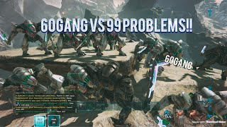 Ark XBOX OFFICIAL: 60GANG VS 99 PROBLEMS!!