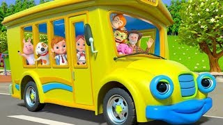 Wheels On The Bus   More Nursery Rhymes  Kids Songs by Little Treehouse