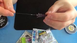Монтаж микроджига под искусственного мотыля