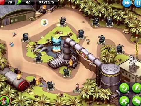 Play games Alien Creeps level 5 and 6