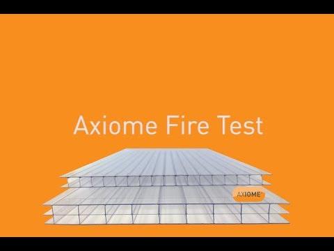 AXIOME® Fire Test