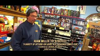 "DISC 254 - ""Adam Miller Toy & Bicycle"", Batavia, NY"