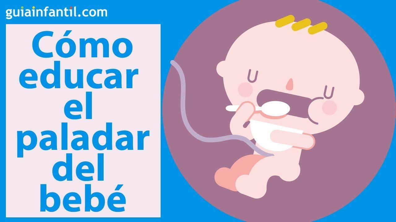 Cómo educar el paladar y el gusto del bebé durante el embarazo | #ConectaConTuHijo