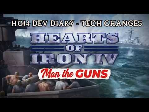 Hearts of Iron IV: Man the Guns Dev Diary - Tech Changes (16/01/19)