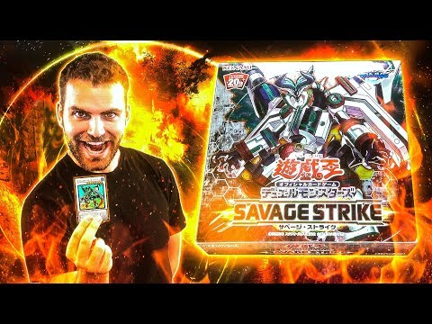 *NEW* YuGiOh SAVAGE STRIKE OCG Booster Box Opening & Review RETURN of the SYNCHROS