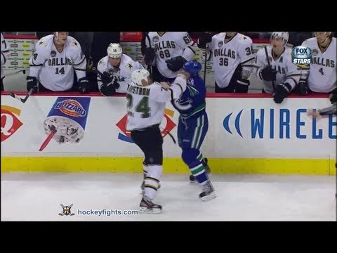 Eric Nystrom vs Dale Weise