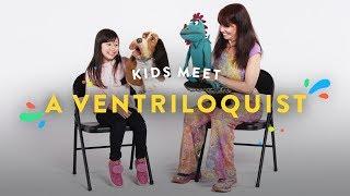 Kids Meet Ventriloquist | Kids Meet | HiHo