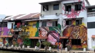preview picture of video 'Melaka (Malacca), Malaysia'