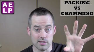 Packing vs Cramming to Remember Vocabulary - Advanced English Listening Practice - 30