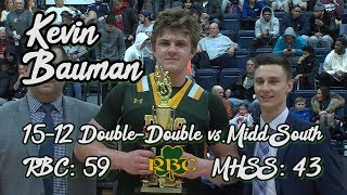 Red Bank Catholic 59 Middletown South 46 | Kevin Bauman Double-Double