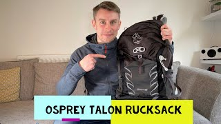 Osprey Talon 22 Rucksack Review - The BEST Hiking Backpack?