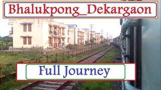 preview picture of video 'Full journey #Bhalukpong #Dekargaonn (#Tepur) #NFR #Elephant corridor'