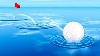 IMPOSSIBLE WATER GOLF TRICKSHOTS! (Golf It)