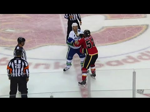 Brandon Bollig vs. Brandon Prust