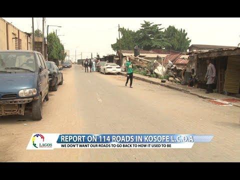 LCU29B - REPORT ON 114 ROADS IN KOSOFE L.C.D.A