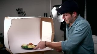 How To Make A Lightbox To Photograph Food : Tips For Photographers