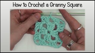 How To Crochet An Easy Granny Square Block
