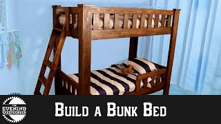 How To Build A Sturdy Bunk Bed | DIY Woodworking