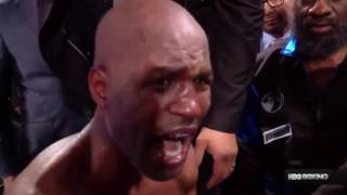 Bernard Hopkins final fight ends bad clip trash talk goes wrong