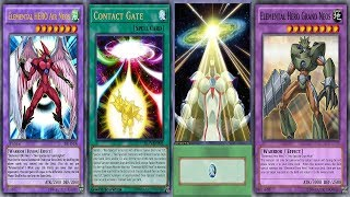 YGOPRO Contact Gate Deck Elemental HERO Air Neos OTK
