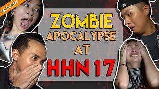 HALLOWEEN HORROR NIGHTS 2017 PRANK | TSL Vlogs