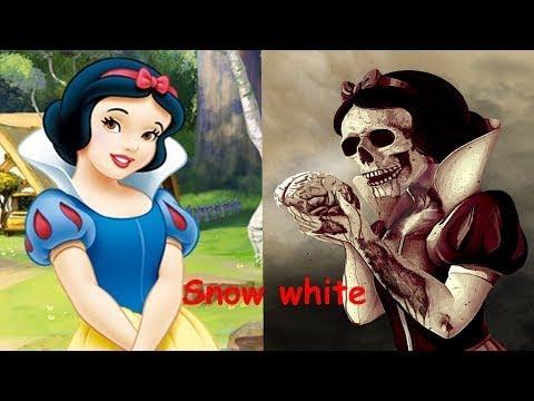 CHuchu] Princesas de Disney como monstruos | Personajes de Disney como zombies 2017 | Todos los per