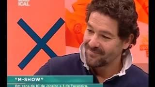 "13 01 15 Entrevista (teatro) ""M-Show"""