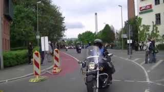 preview picture of video '14. Motorrad Sternfahrt 2014 in Kulmbach'
