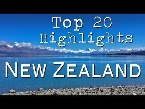 My Top 20 Highlights of New Zealand!
