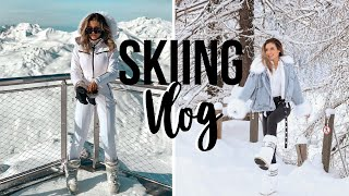 SKIING TRIP In Val Disere, The FRENCH ALPS Travel Vlog 2020